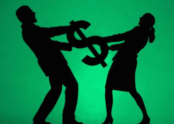 dinheiro-divorcio esvaziar conta